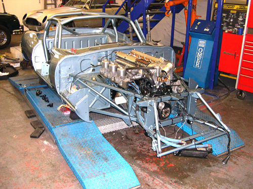 Jaguar etype restoration